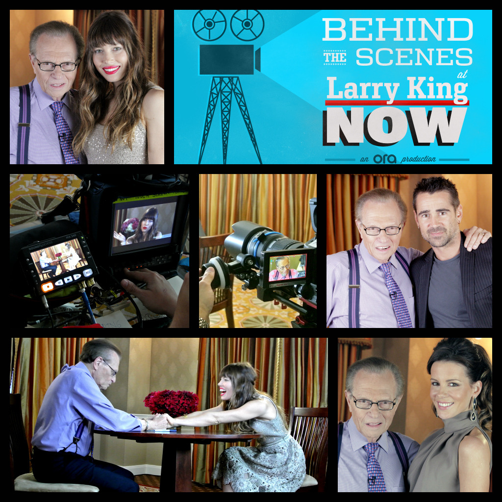 Behind the scenes with the cast of Total Recall on Larry King Now. Watch the full episode on Ora TV & Hulu: http://bit.ly/OH2mOU
