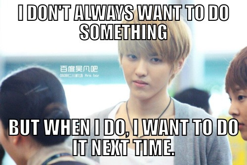 exowhore:  kreys:  all-thegood-things:  Oh, Kris.  crying lmao  someone help odg choking on air