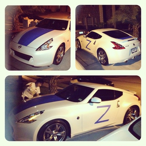 #welcome to the #neighborhood #nissan #370z #rice #prank #fail   (Taken with Instagram)