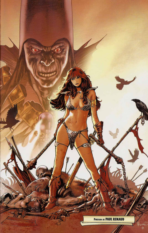 dreaming-valhalla:  Red Sonja