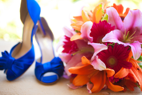 Love this color palatte!  Real DIY Wedding: Hollman + Sara @ DIY Bride