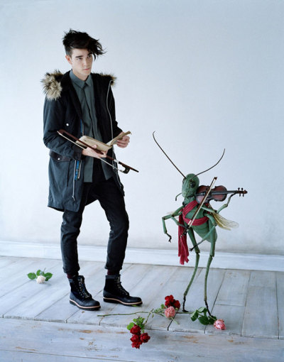 【TIM WALKER: UNDERCOVER X UNIQLO 2012 FALL/WINTER LOOKBOOK】 HYPEBEAST 详情