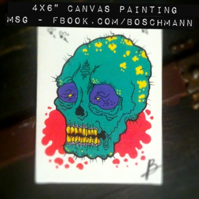 4SALE!!! I'm doing a number of original canvas paintings to help raise some cash (mainly for more supplies to continue work on my skatedecks) If interested message me on Facebook - I don't like talking openly about money online.