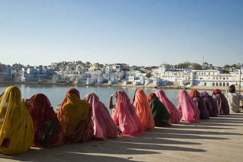 marciosza:  Waiting for the sunset Pushkar, India 2006 by emmec on Flickr.