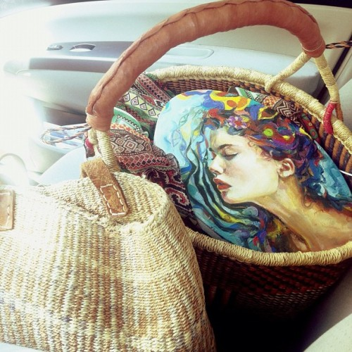 baskets are my copilot  (Taken with Instagram)