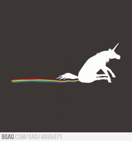 mouthful-of-glitter:  Yes, I am a Unicorn.  Yes, I shit rainbows.