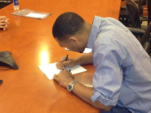 Surreal. B-Roy signs with some other team that isn't Rip City.