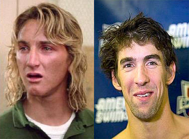 If Jeff Spicoli was an Olympic swimmer, he'd get really stoned and come in 4th…