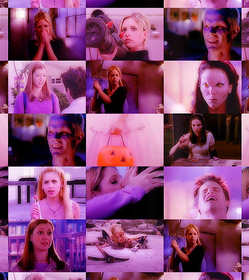 btvs season two + purple