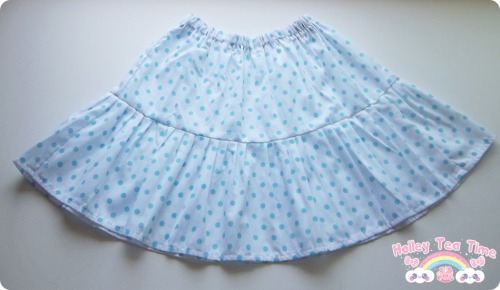 ☆ Blue polka dots - Skirt ☆