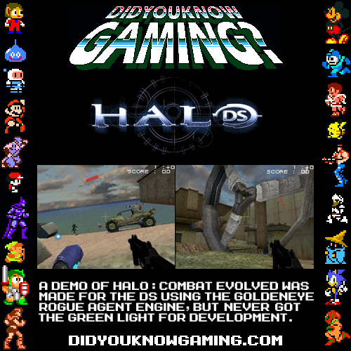 didyouknowgaming:  Halo DS.