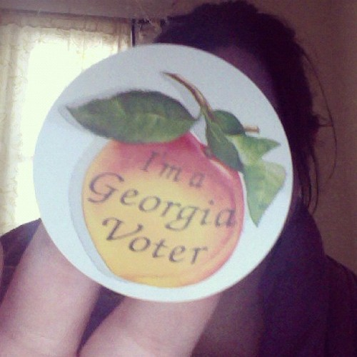 If you're in the Atlanta metro area, go vote! YES ON T-SPLOST!!!!