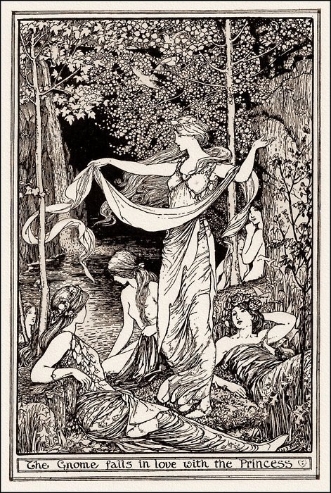 "clavicola:  Illustration by H.J. Fordfrom ""Rübezahl"" in The Brown Fairy Book"