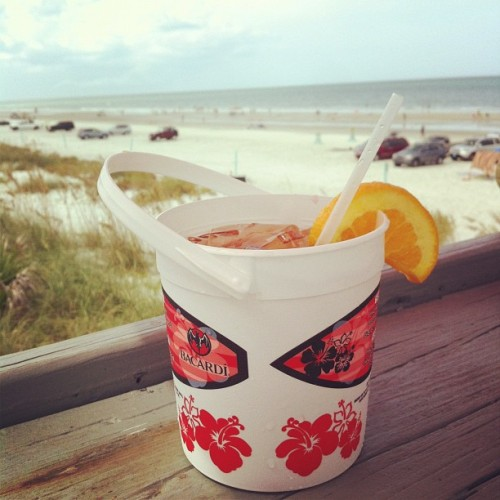 We were made for the beach life. (Taken with Instagram at Chase's on the Beach)