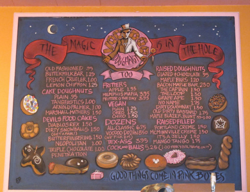 laughingsquid:  Voodoo Doughnut in Portland, OR, Where The Magic Is In The Hole  ha ha, I was just there!