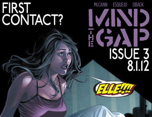 Can you solve the mystery of Mind the Gap?  Issue three of the hit series by Jim McCann, Rodin Esquejo and Sonia Oback will be in stores on Wednesday!