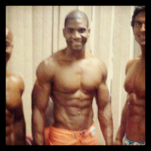 My #Inspiration and #motivator , @mpd_xavisus , (and hopefully future competition coach) #fitness #bodybuilding #bodybuilder #exercise #coach #competition #conditioning #Strength #Pro #Instafit  (Taken with Instagram)
