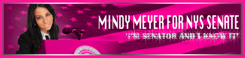 A closer look at the phenomenon that is the world-famous* Mindy Meyer.  *Internet famous.