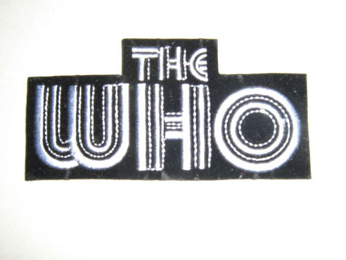 The Who iron on patch