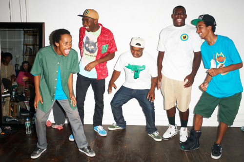 terrysdiary:  Odd Future at my studio #18