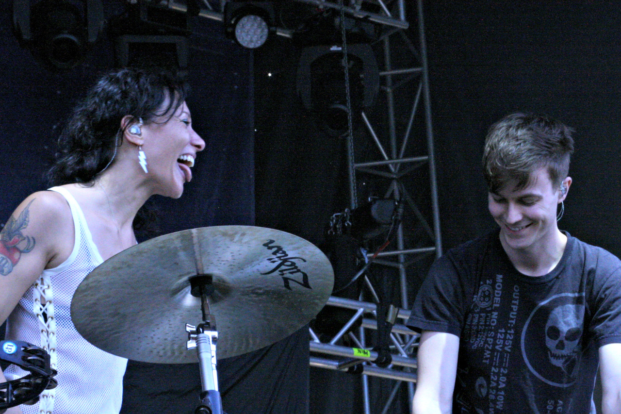 baeblemusic:  Matt and Kim - Catalpa NYC - Day 2
