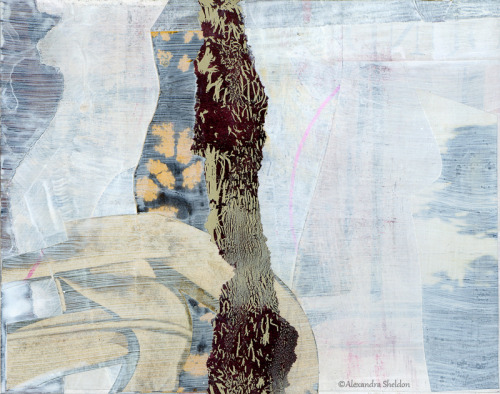 Mixed media collage by Alexandra Sheldon facebook fan page