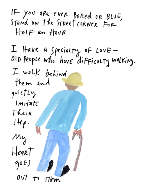 explore-blog:  Maira Kalman gold