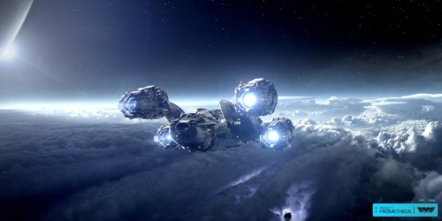 Prometheus Aircraft Wallpaper (« Full Size)