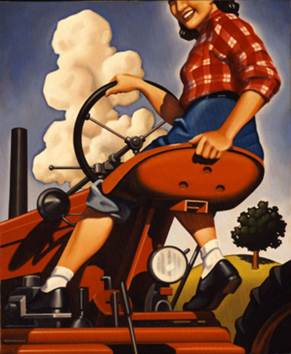 Kenton Nelson, Molly Making the Grade