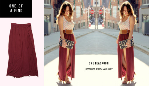 ONE OF A FIND — ONE TEASPOON Defender Maxi Skirt
