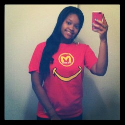 Shouts out to @nikkinickinicky Coppin dat #BOPHEAD shirt from OtisBruno.Com !!!! Dey selling out! Get Yours NOW @ OtisBruno.com (Taken with Instagram)