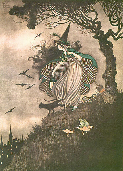 necroluste:  Elves & Fairies by Ida Rentoul Outhwaite