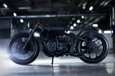 Made in China? In this case I'm ok with that. (via Bandit9 Nero Motorcycle | Uncrate)