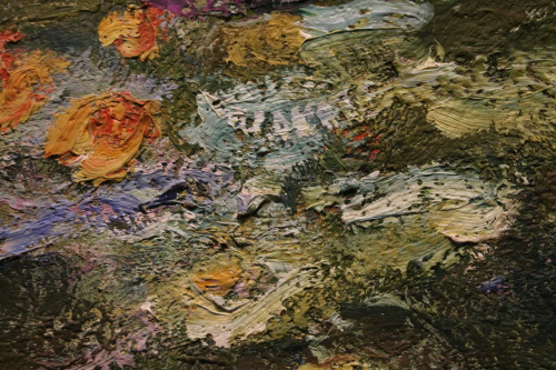 Water Lillies (Detail) Claude Monet I took this photo at the glorious Art Institute of Chicago.