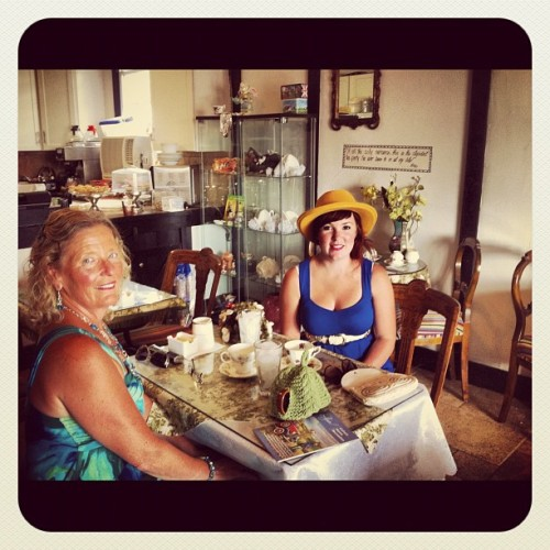 #high #tea with #mum  (Taken with Instagram)