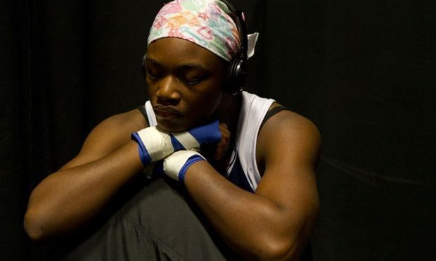 "17 year old US Olympic Boxer Clarissa ""T-Rex"" Shields. Watch her first match on Monday! Oh, and check out this documentary about T-Rex's journey to become the youngest woman to ever box in the Olympics."