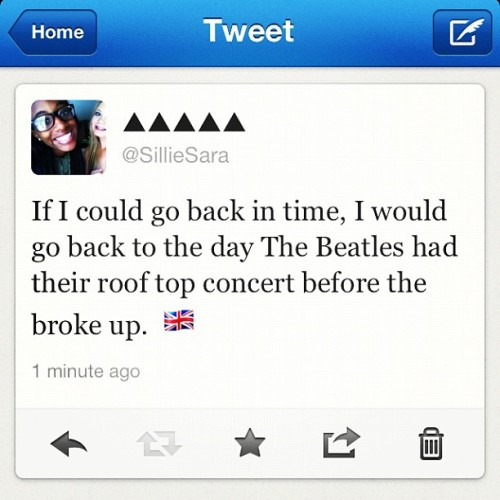 #thebeatles #concert #last #breakup 👨👦💀💂🇬🇧 (Taken with Instagram)