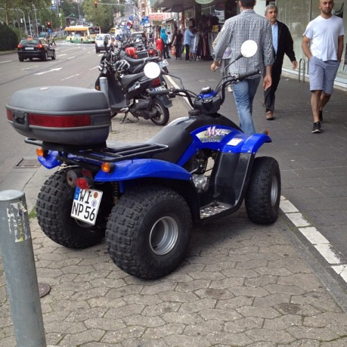 This is street legal in Germany.  (Taken with Instagram)