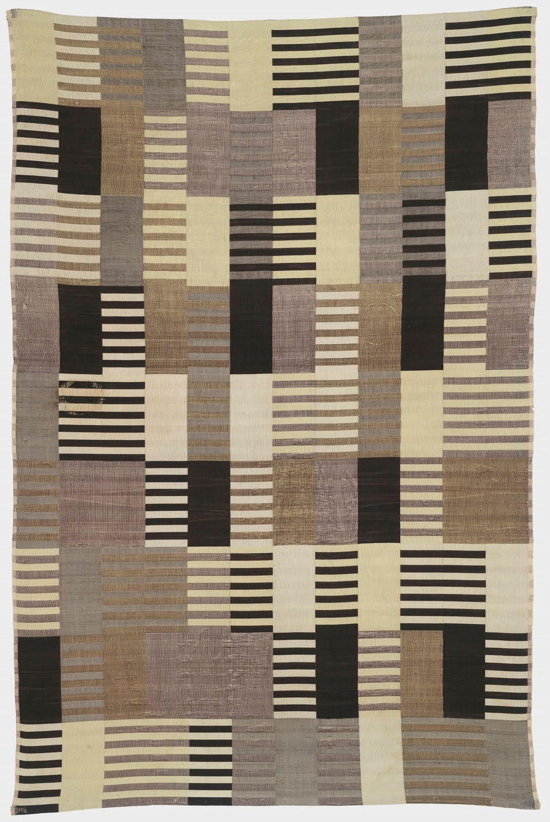 ANNI ALBERS WALL HANGING, silk, 1926 (©2007 The Josef and Anni Albers Foundation / Artists Rights Society (ARS), New York)