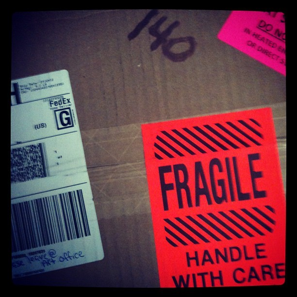 BOX OF #awesome !!!!!! (Taken with Instagram)