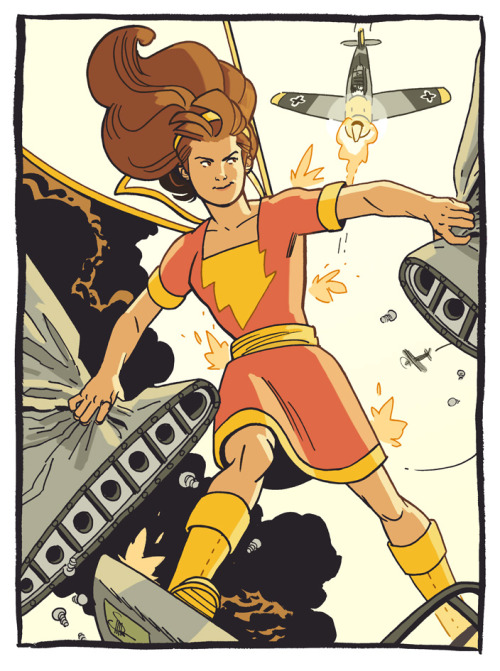 docshaner:  A personal favorite character, Mary Marvel! More at the blog.
