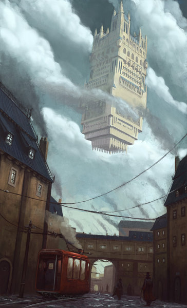 Sky Fortress by Klaus Pillon