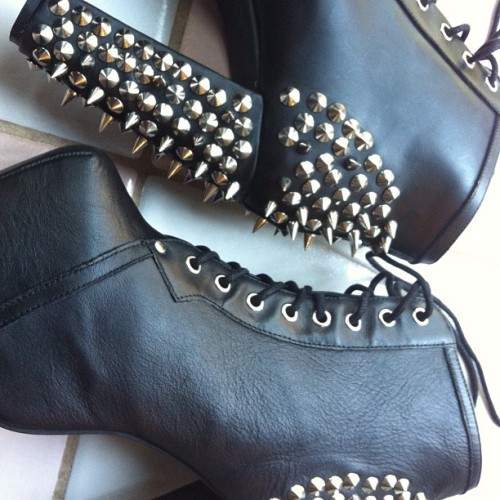 #shoes #solestruck #jeffreycampbell (Taken with Instagram)