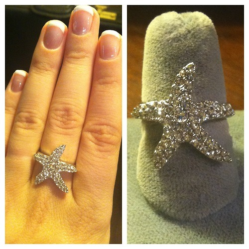 Selling this amazing ring for $30. I have sizes 7 and 8! (: Paypal only. Let me know if you are interested!