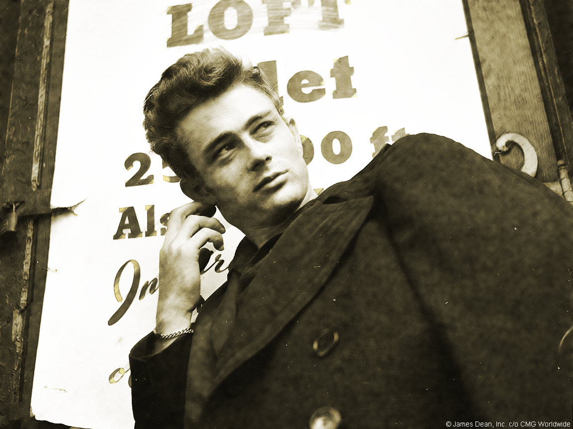 "asthetiques:  James Dean - ""Only the gentle are ever really strong."""