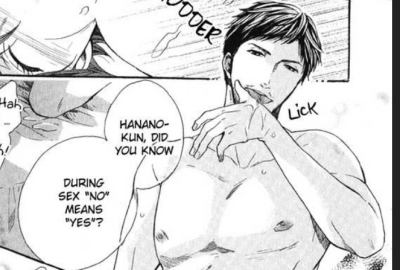 this is why there is so much rape in yaoi e_e