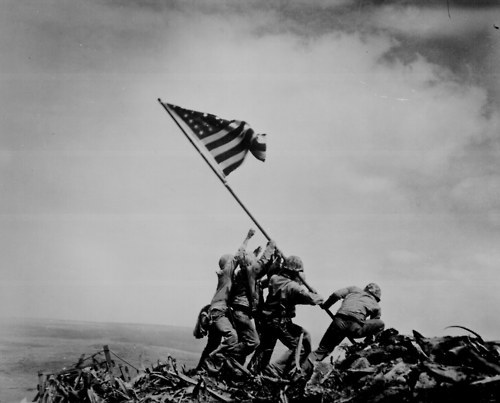 Joe Rosenthal Flag Raising on Iwo Jima
