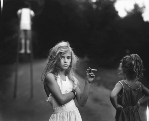 Sally Mann Candy Cigarette, 1989