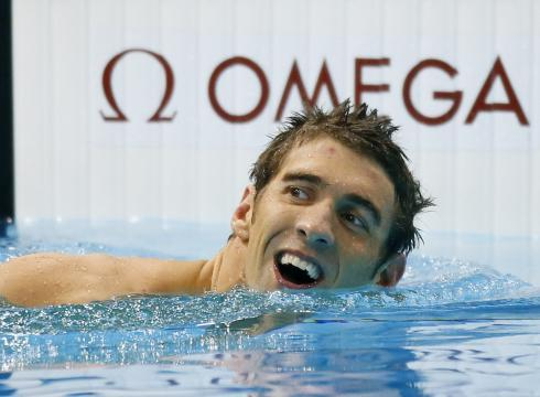 Congratulations Michael Phelps, on your 19th medal. THE MOST IN HISTORY! USA! USA! USA!