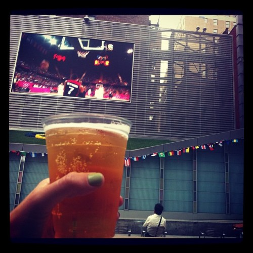 Public Olympic viewing spots in NYC! (Taken with Instagram)